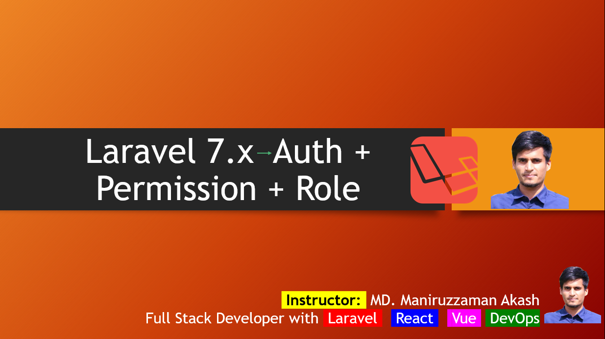 Laravel Role Permission Management System Full Example with Source Code