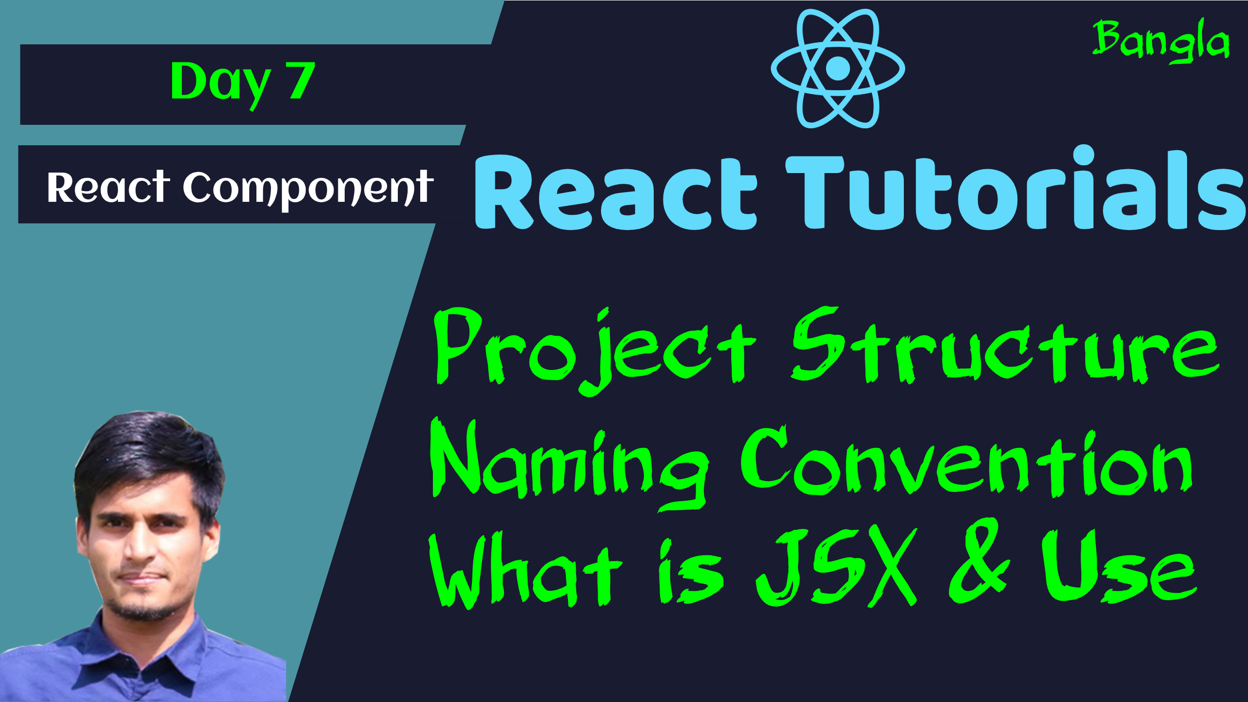 #7 - How React Work | Real DOM vs Virtual DOM | Coding Structure | Naming Convention