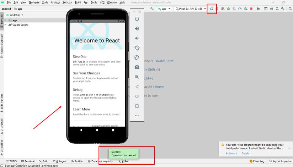 How to Start a React Native Application