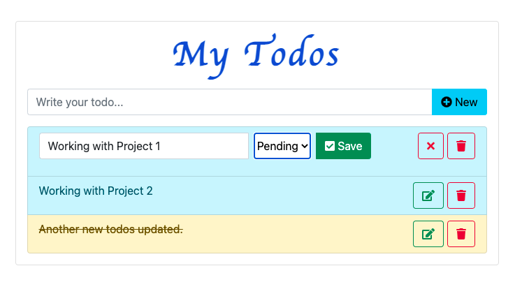 How to make an amazing Todo application using React
