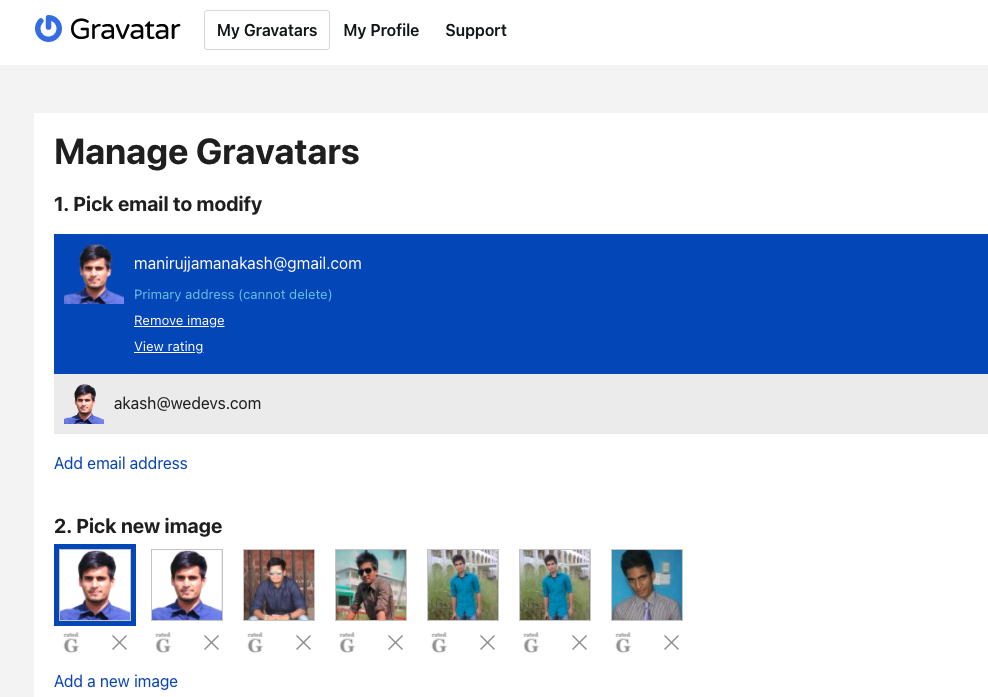 How to get Gravatar image from Email - Helper Class and Advanced implementation